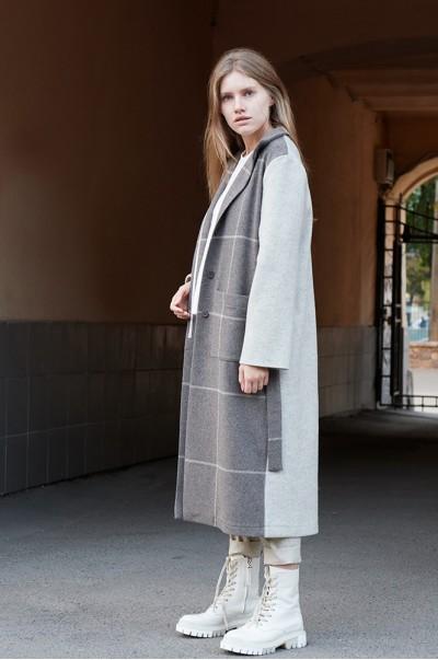 Пальто шерсть миндально-молочное (ПТ 04)
