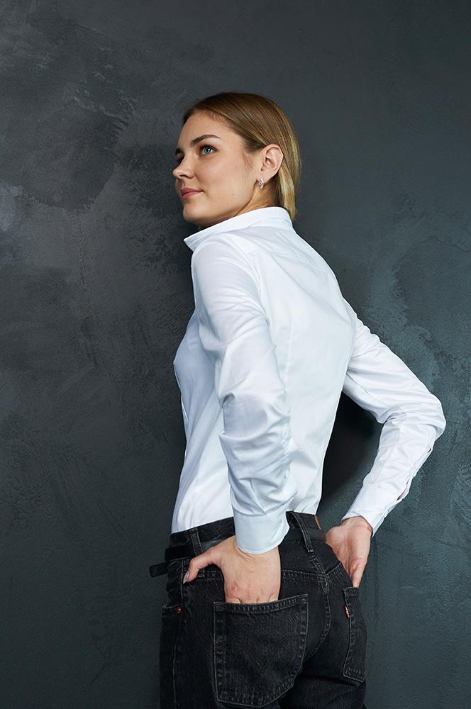 Рубашка боди белая  (Б 20)